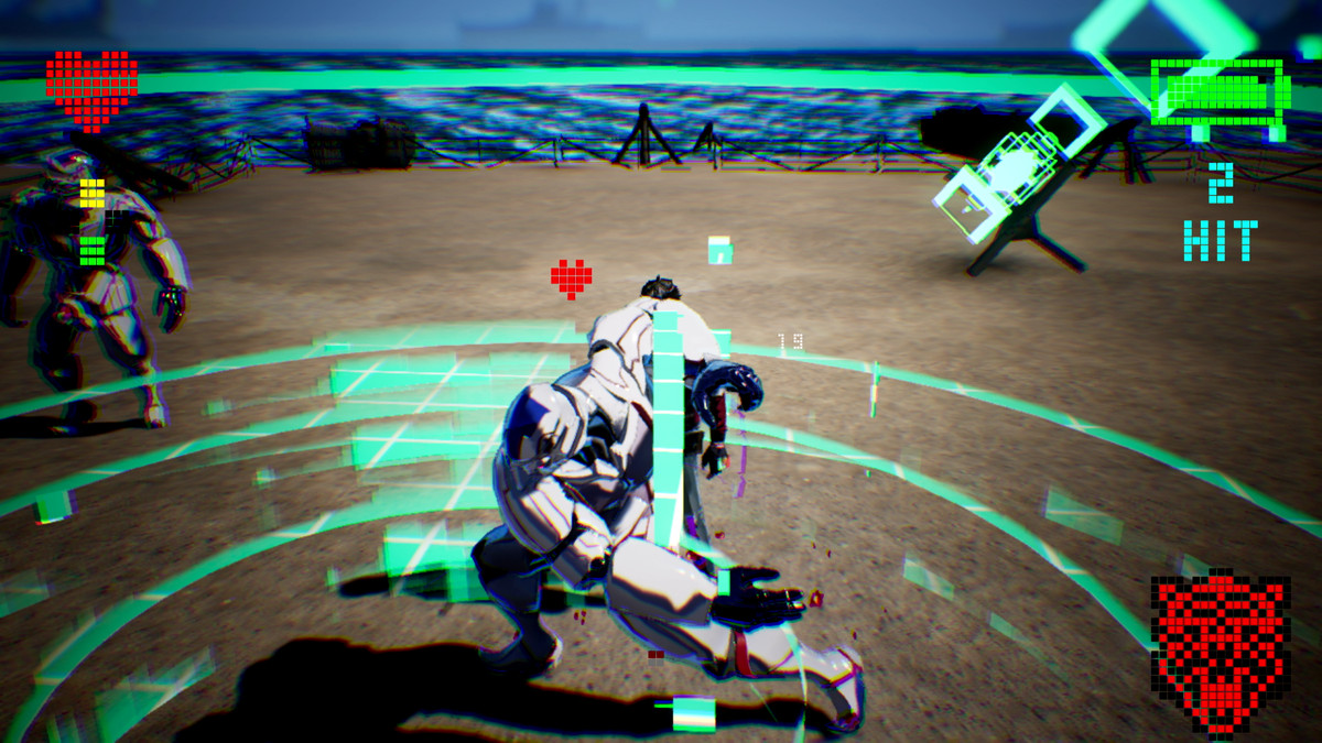 The Mass-produced Destroyman boss battle in No More Heroes 3