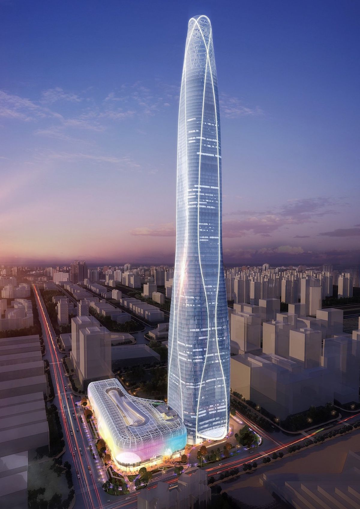 10 tallest buildings under construction or in development ...