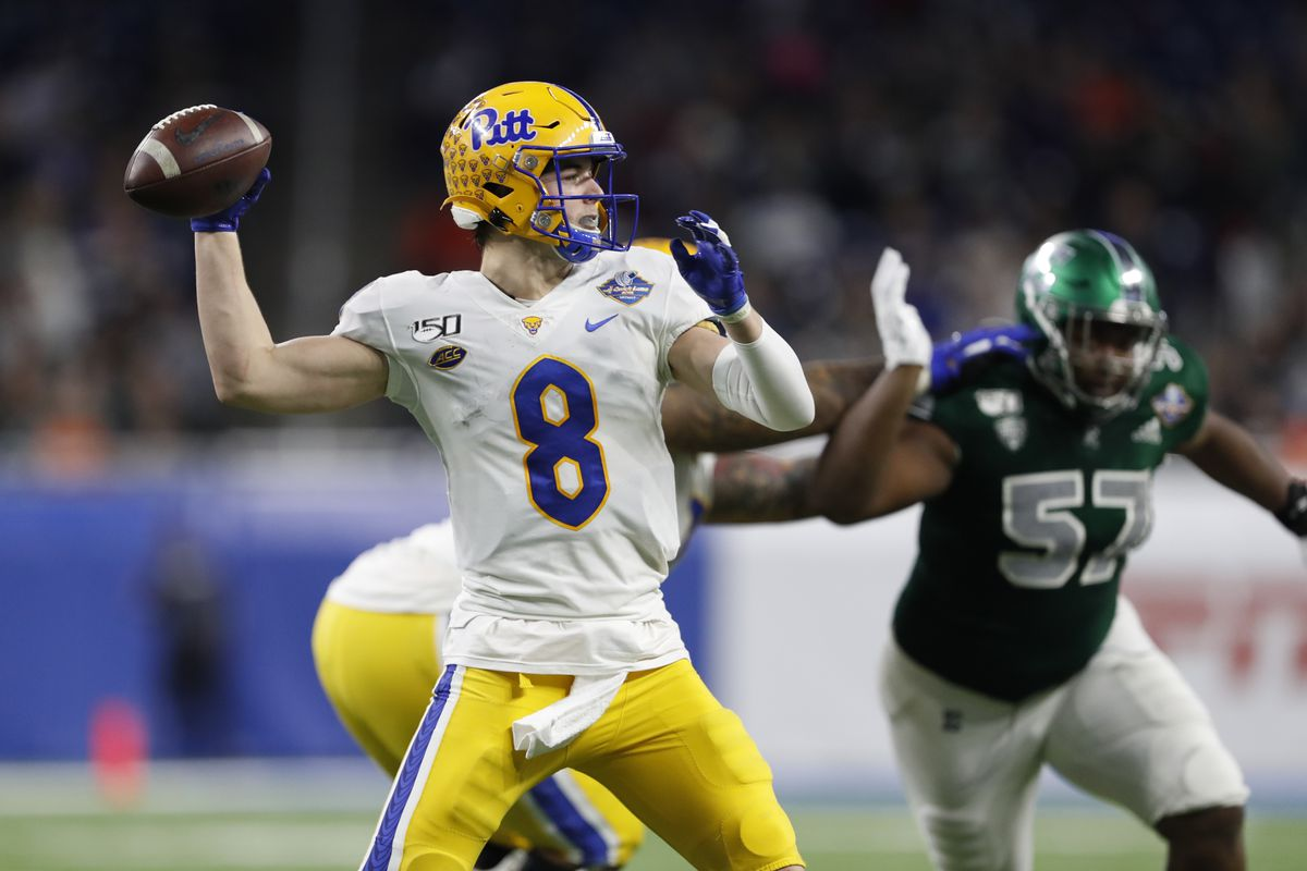 NCAA Football: Quick Lane Bowl-Pittsburgh vs Eastern Michigan