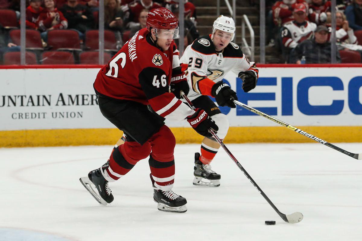 NHL: JAN 02 Ducks at Coyotes
