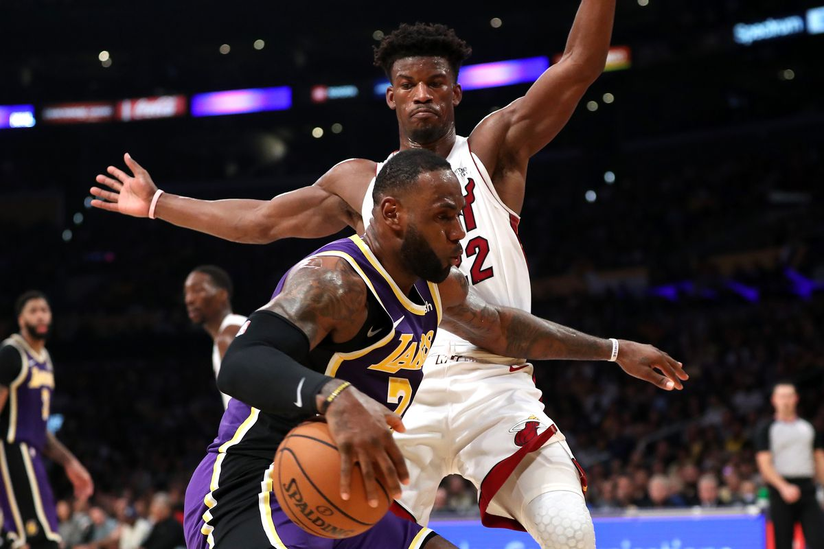 Very Important Game Miami Heat Seek Revenge In Rematch Versus Lebron James And The Los Angeles Lakers Hot Hot Hoops