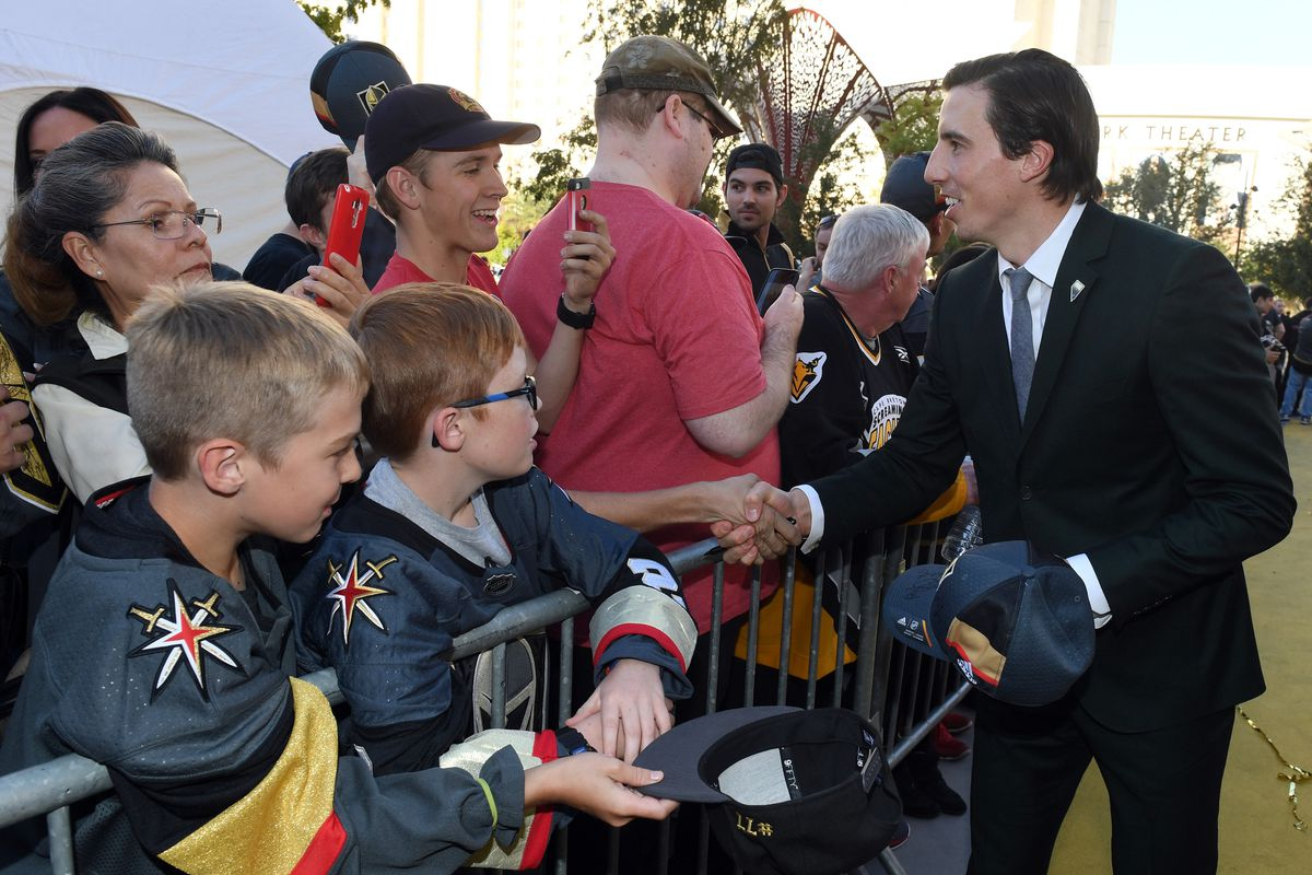 Golden Knights instituting kids-only autograph policy