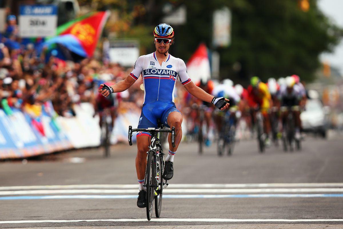 Sagan Wins 2015 Worlds
