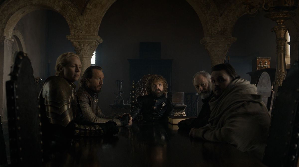Game of Thrones S08E06 small council