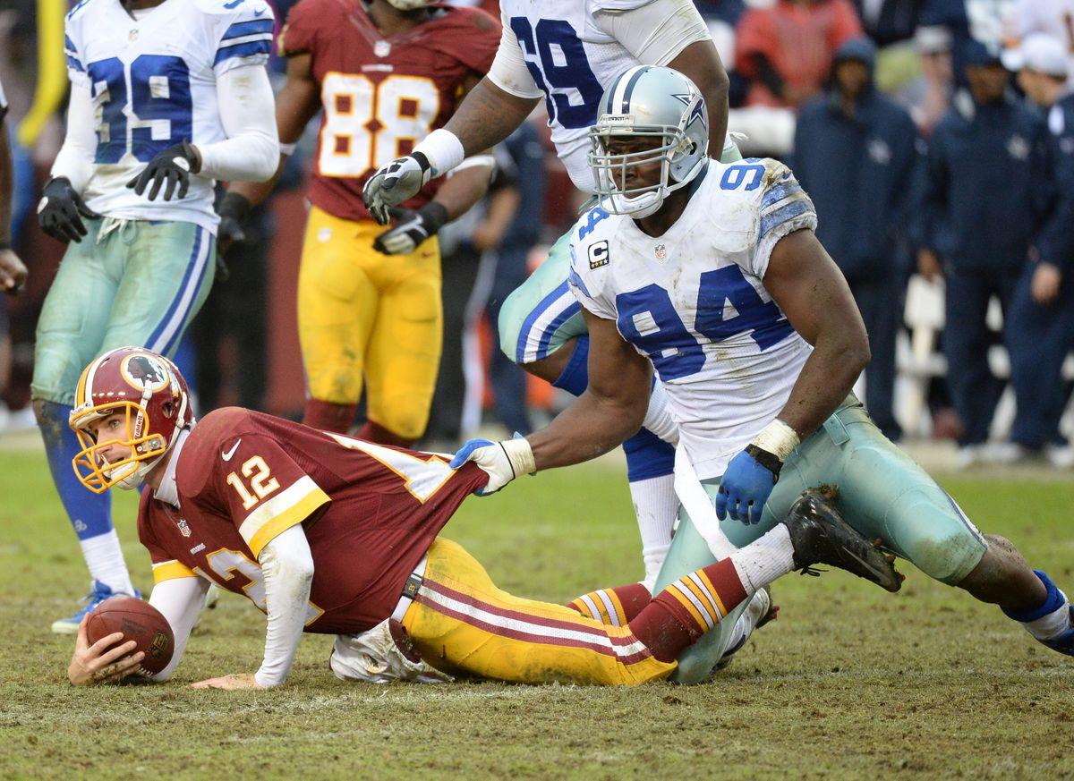 NFL football-Dallas Cowboys at Washington Redskins
