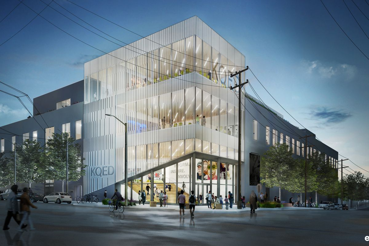 Kqed Breaks Ground On San Francisco Headquarters Curbed Sf