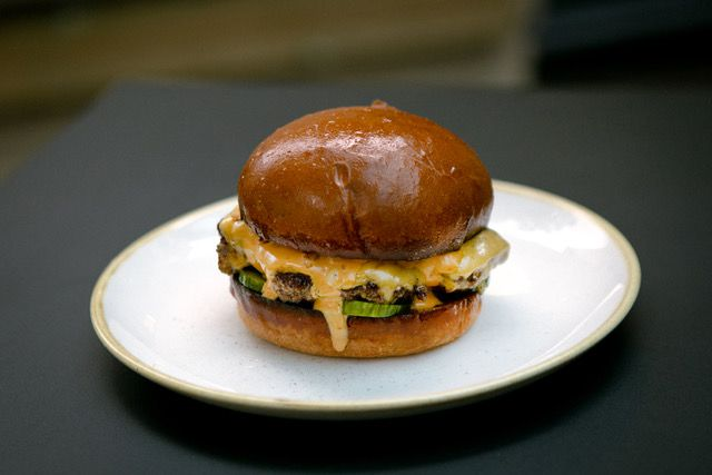 The best cheeseburger in the city is now found at The Compton Arms in Islington