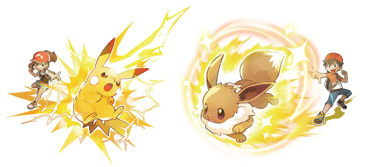 Pikachu and Eevee's special moves