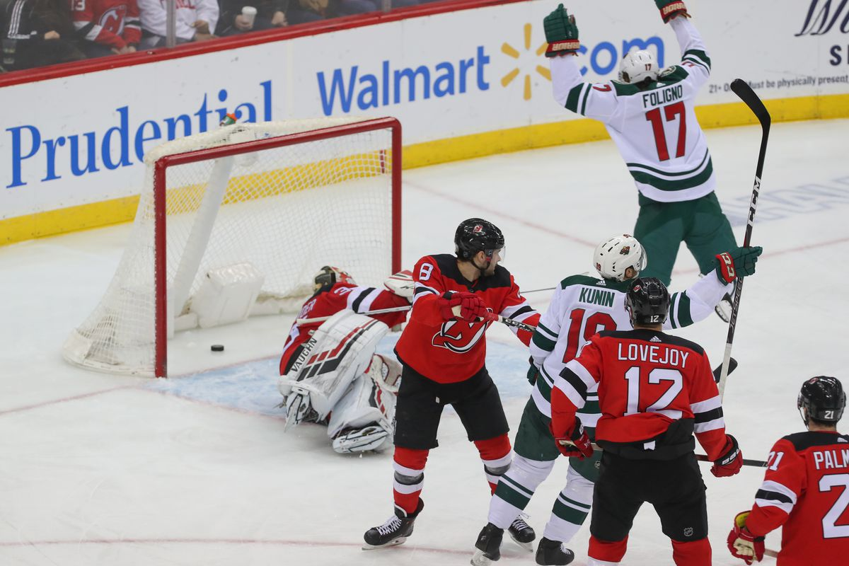 A Love Letter to Sherman Abrams  New Jersey Devils Downed by Minnesota Wild  2-4 15b15d703