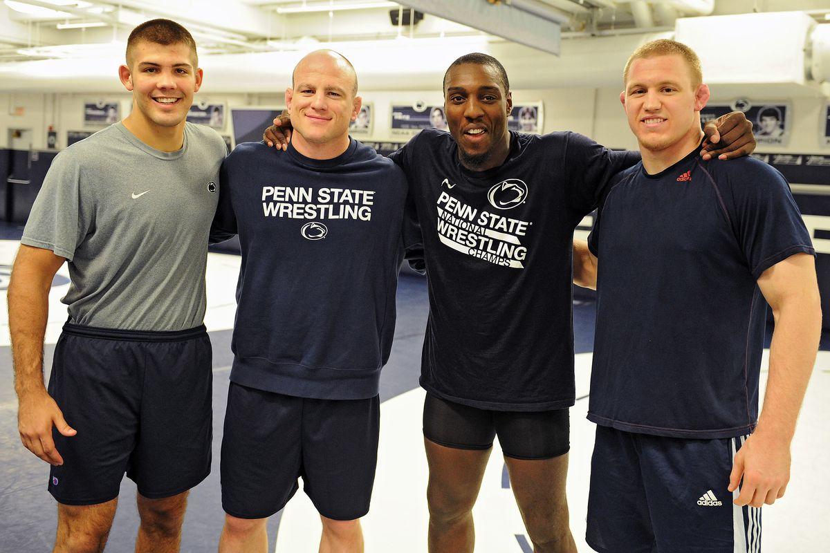 UFC Star Phil Davis Visits Penn State
