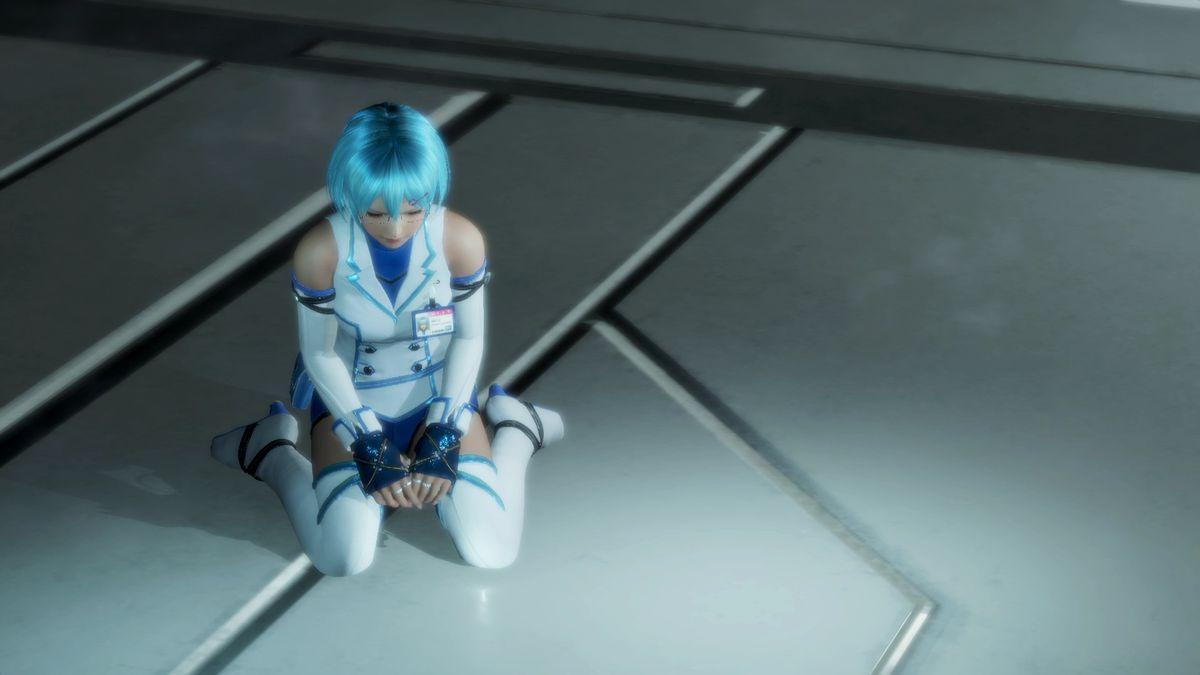 Dead or Alive 6 - NiCO kneeling on the floor