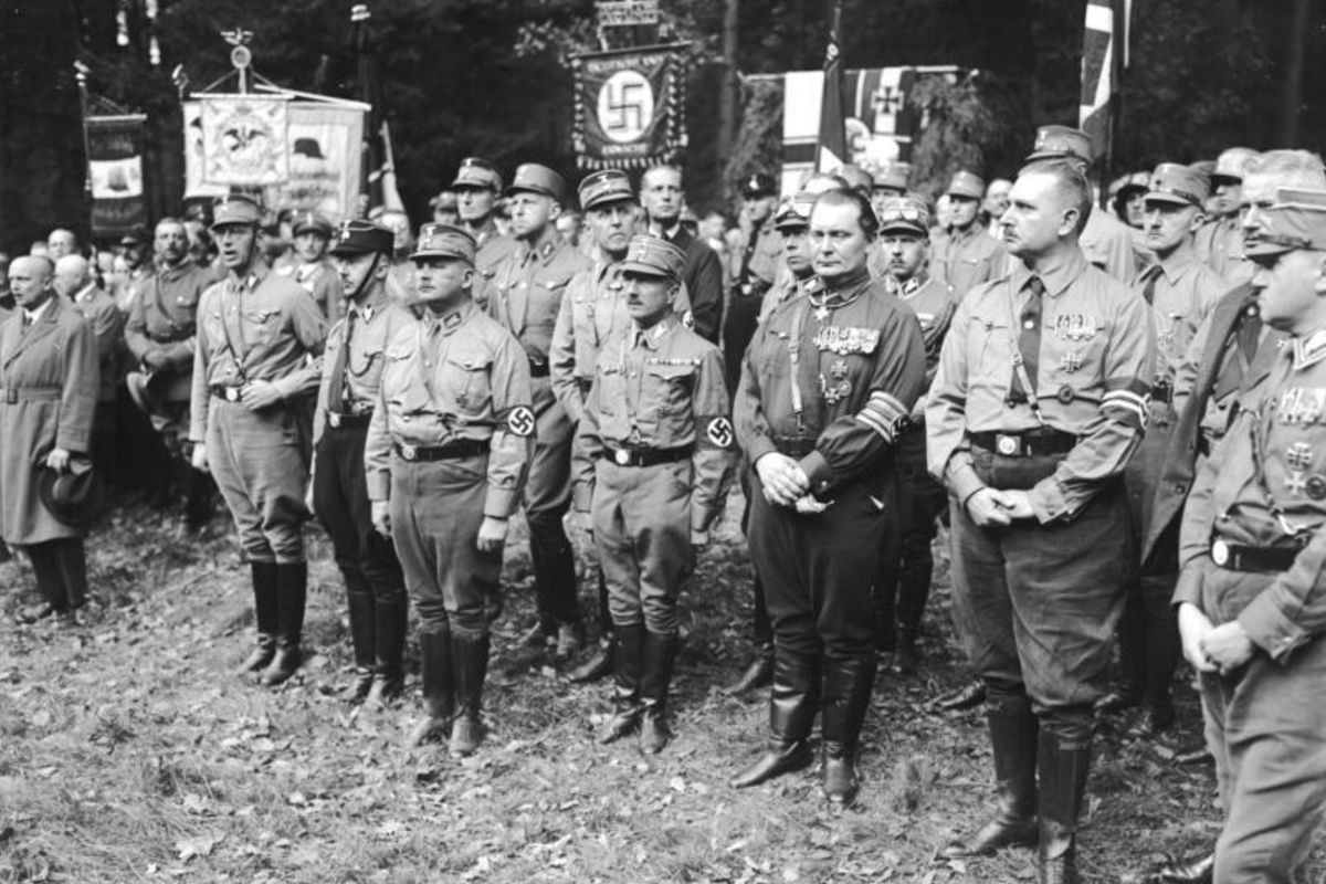 an analysis of german nazis The führer myth how hitler won over the german people  it was hard for those listening to hitler's 1939 speech, even many who had earlier opposed the nazis,.