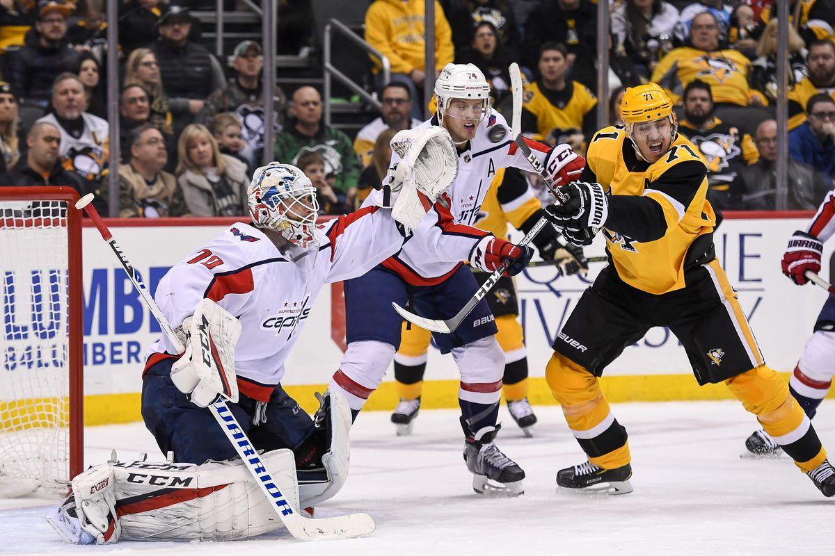 NHL: MAR 07 Capitals at Penguins