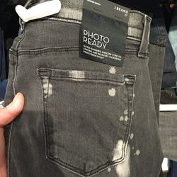 J Brand mid-rise cropped skinny jeans, $168 (from $240)