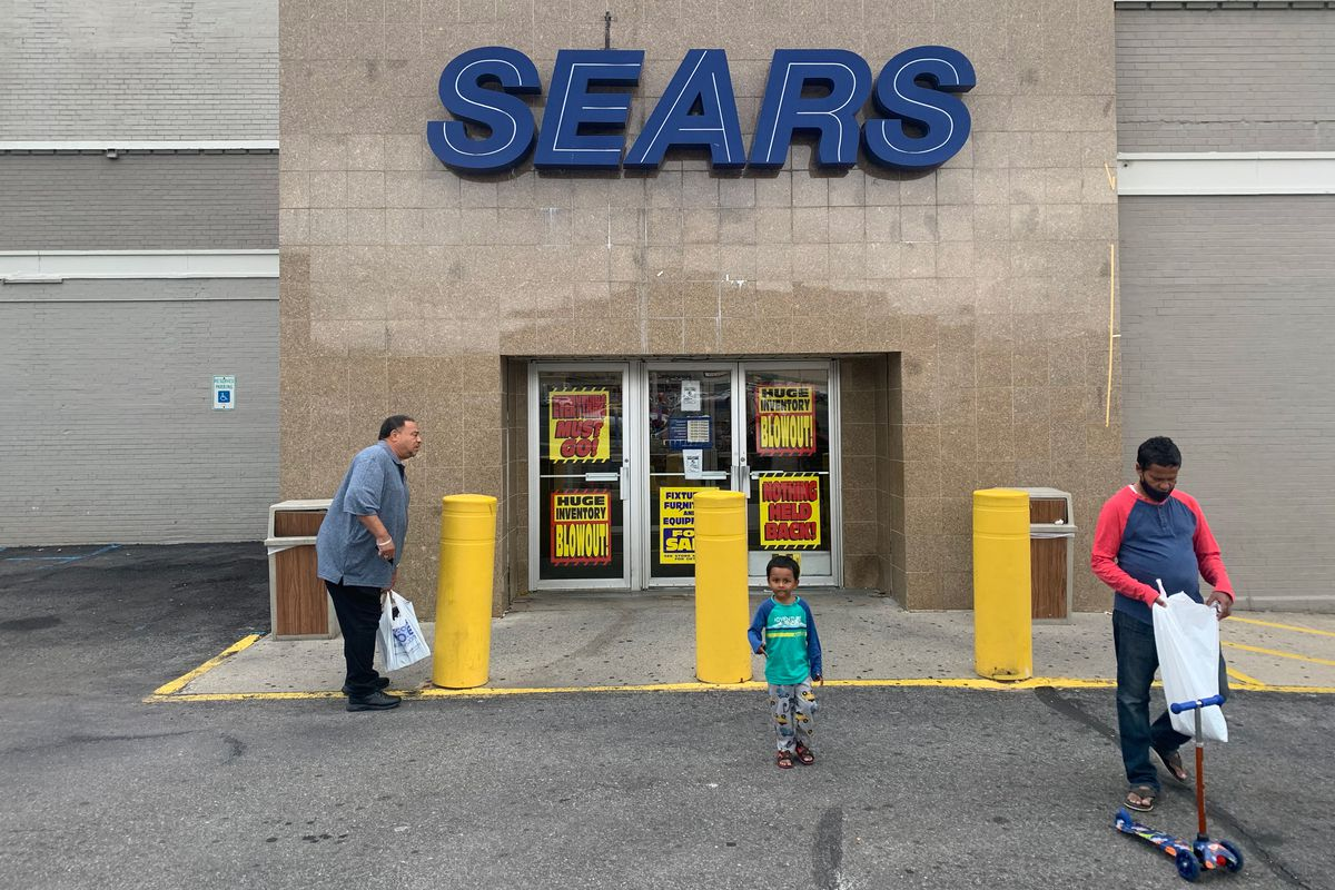 A Sears in Flatbush, Brooklyn was set to close, Sept. 16, 2021.