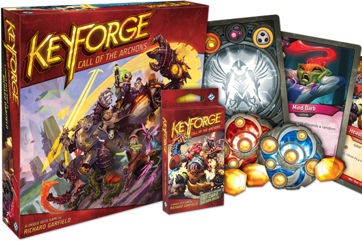 KeyForge is a new, procedurally generated card game - Polygon