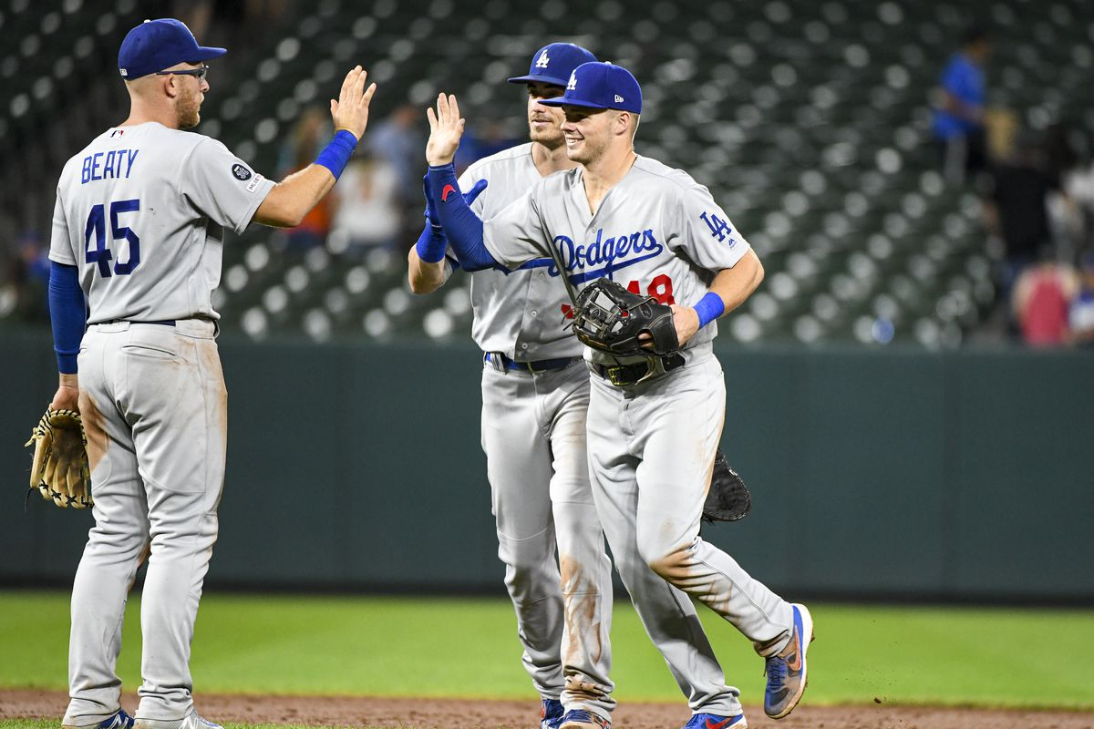 MLB: SEP 12 Dodgers at Orioles