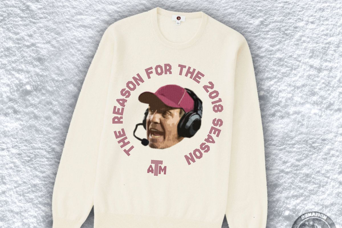Texas A&M ugly Christmas sweaters 2017 - Good Bull Hunting