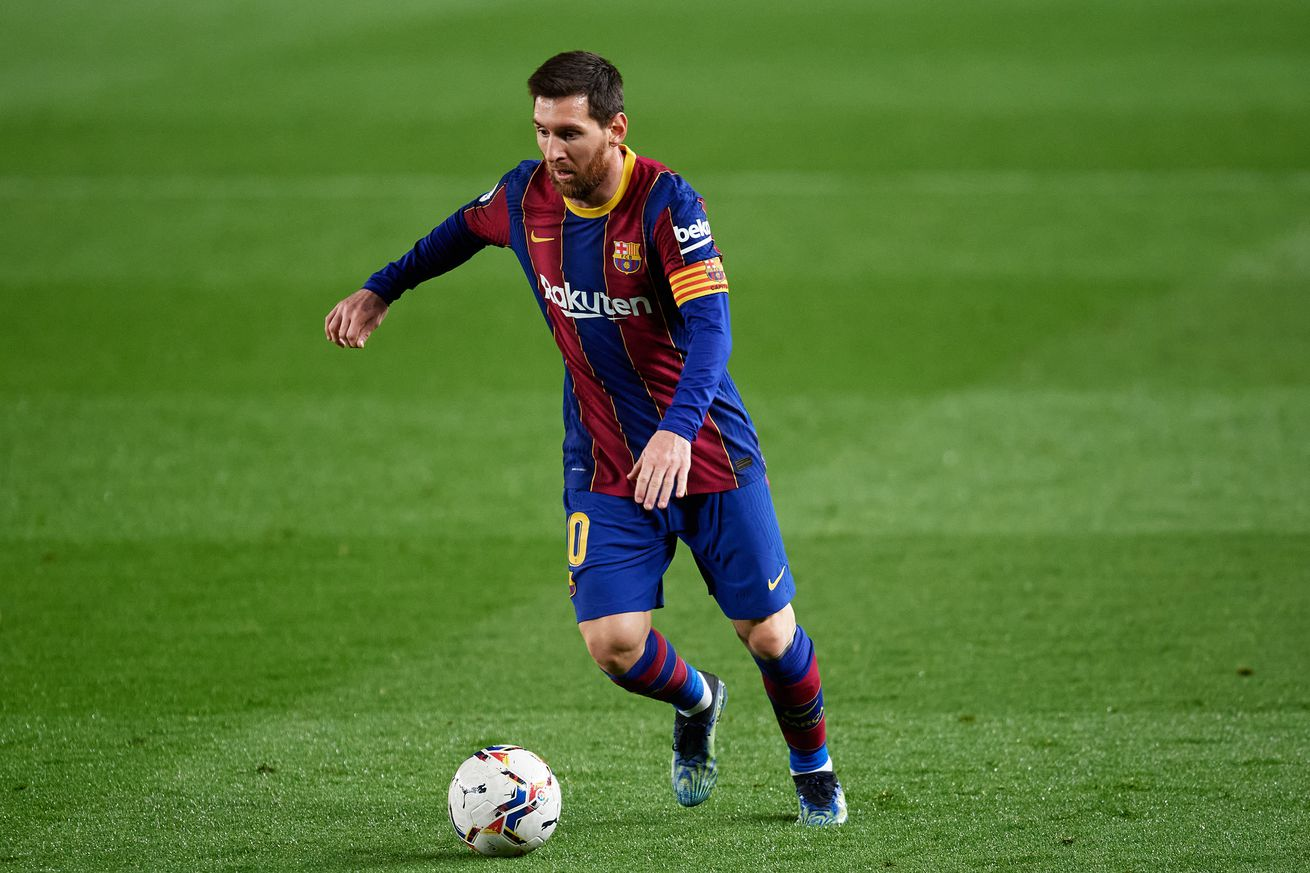 Lionel Messi back on top of La Liga scoring charts