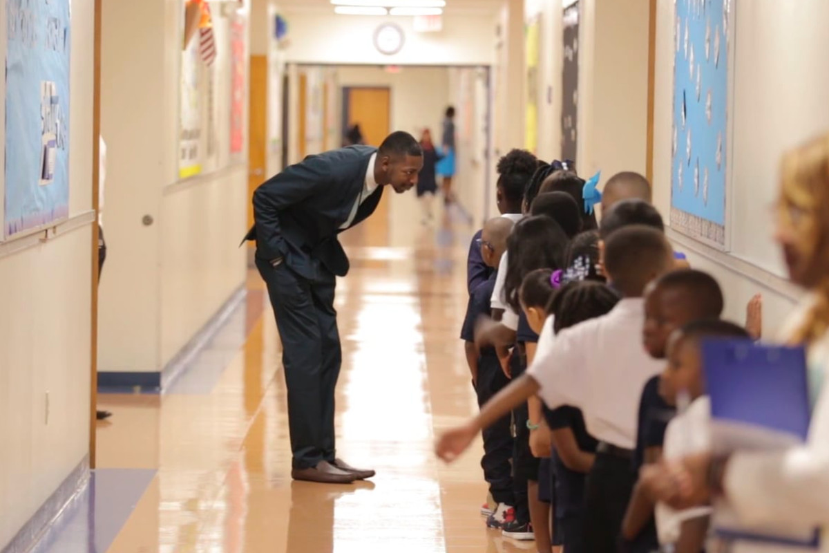 Archie Moss is principal of Bruce Elementary School, one of 39 Memphis schools named to the state's list of top-performers in 2018.
