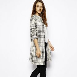 """<b>ASOS</b> Jacket in Longline and Check, <a href=""""http://us.asos.com/ASOS/ASOS-Jacket-in-Longline-and-Check/Prod/pgeproduct.aspx?iid=3755605&cid=2641&sh=0&pge=0&pgesize=36&sort=-1&clr=Multi"""">$94.10</a>"""