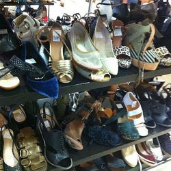 Co-op shoes upstairs