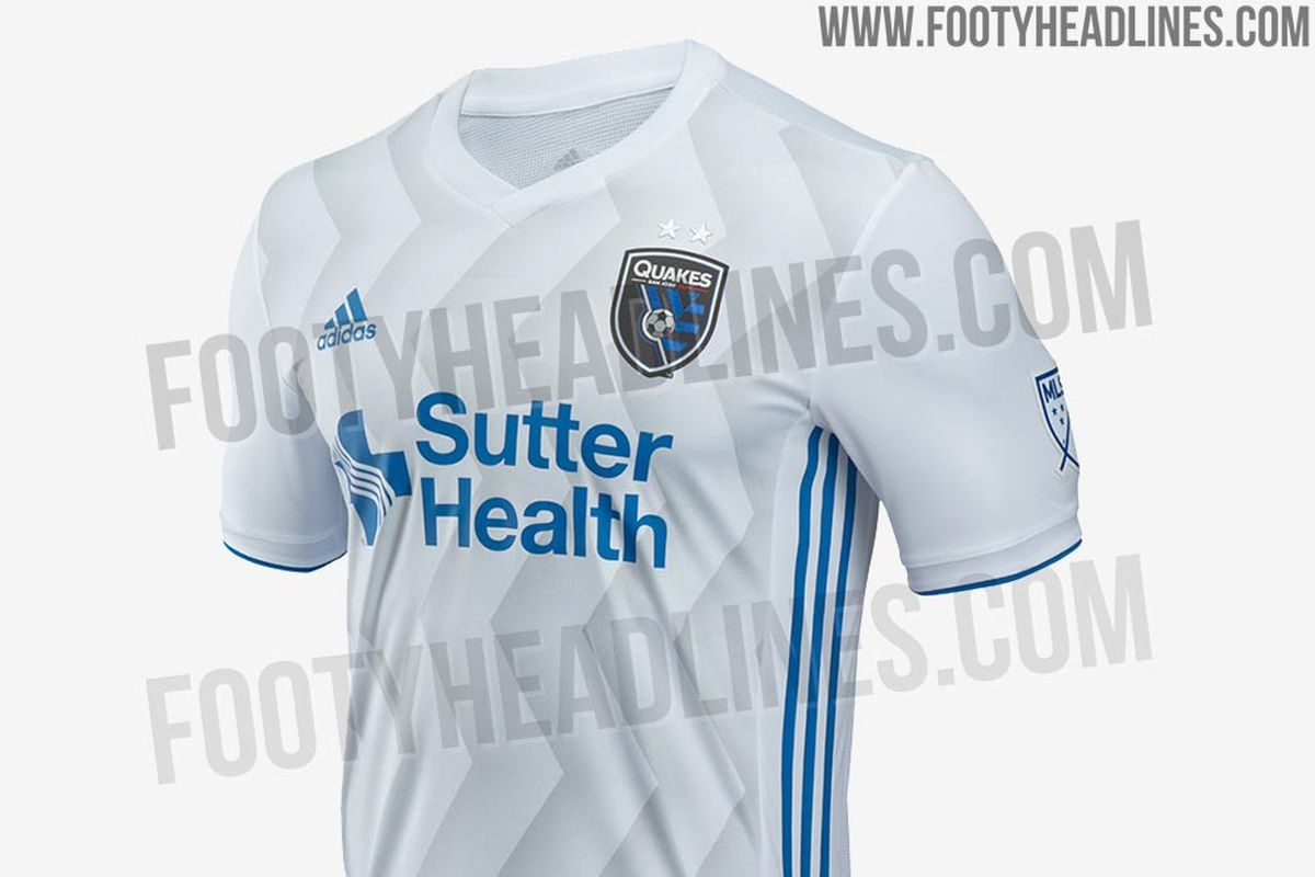 new product f3b25 14d51 San Jose Earthquakes new 2018 away jersey secondary kit ...