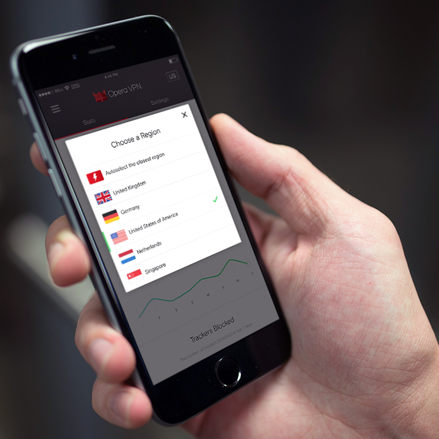 Opera launches 'free and unlimited' VPN app for iOS - The Verge