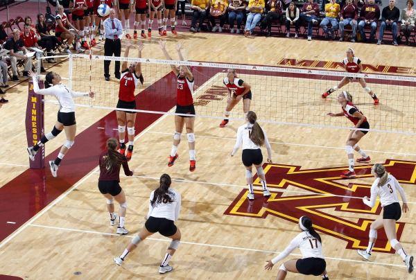 Minnesota Volleyball vs Wisconsin 2014