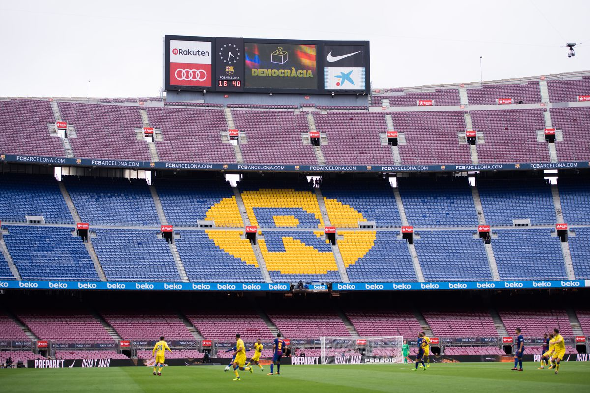 FC Barcelona facing Las Palmas behind closed doors amid Catalan vote