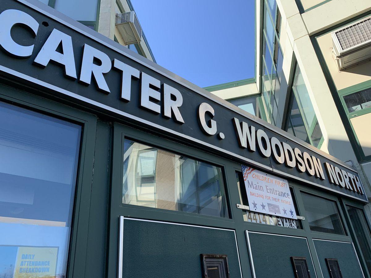 Carter G. Woodson Elementary, 4414 S. Evans Ave.