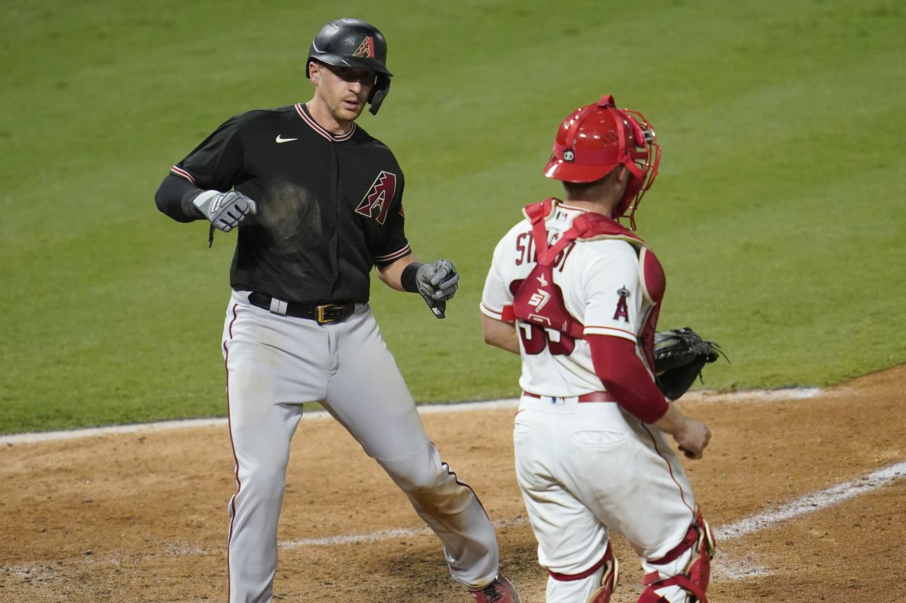 Arizona Diamondbacks v Los Angeles Angels