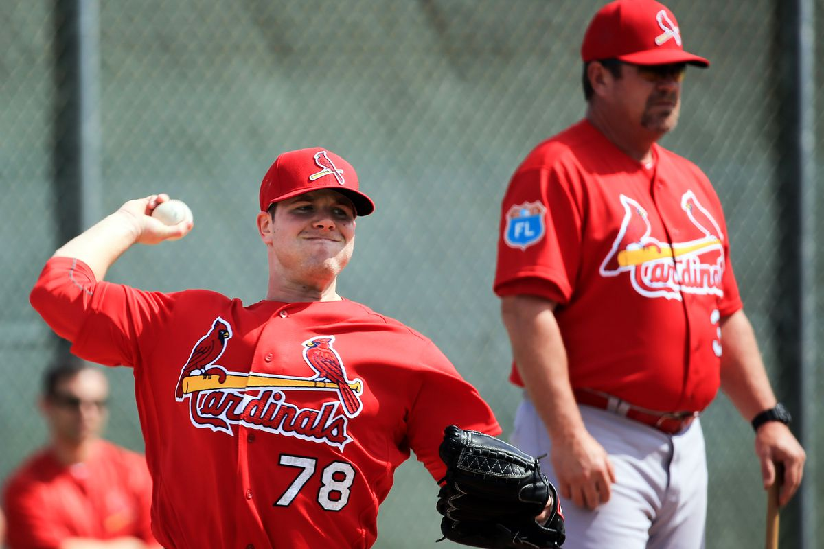 Trey Nielsen pitched a complete game for Double-A Springfield on Friday.