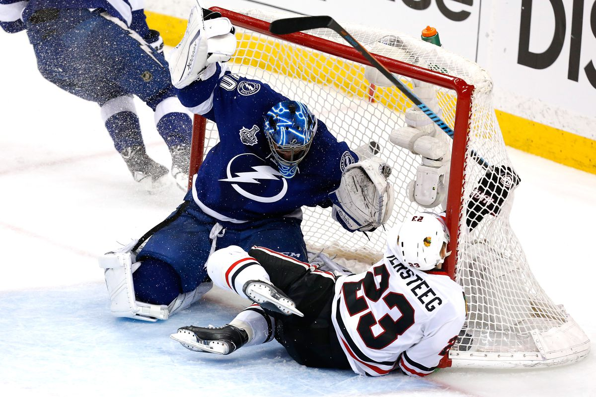 """Sometimes the """"Versteeg Flop"""" doesn't go as planned."""