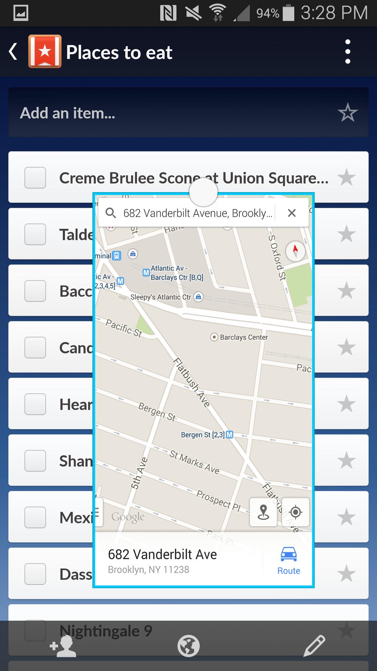 Samsung Galaxy Note 4 screenshot