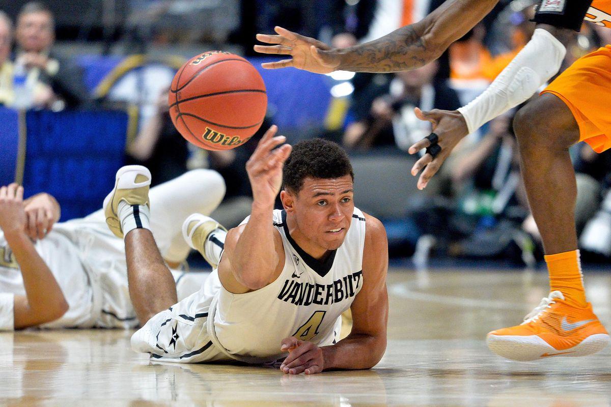 NCAA Basketball: SEC Tournament-Tennessee vs Vanderbilt