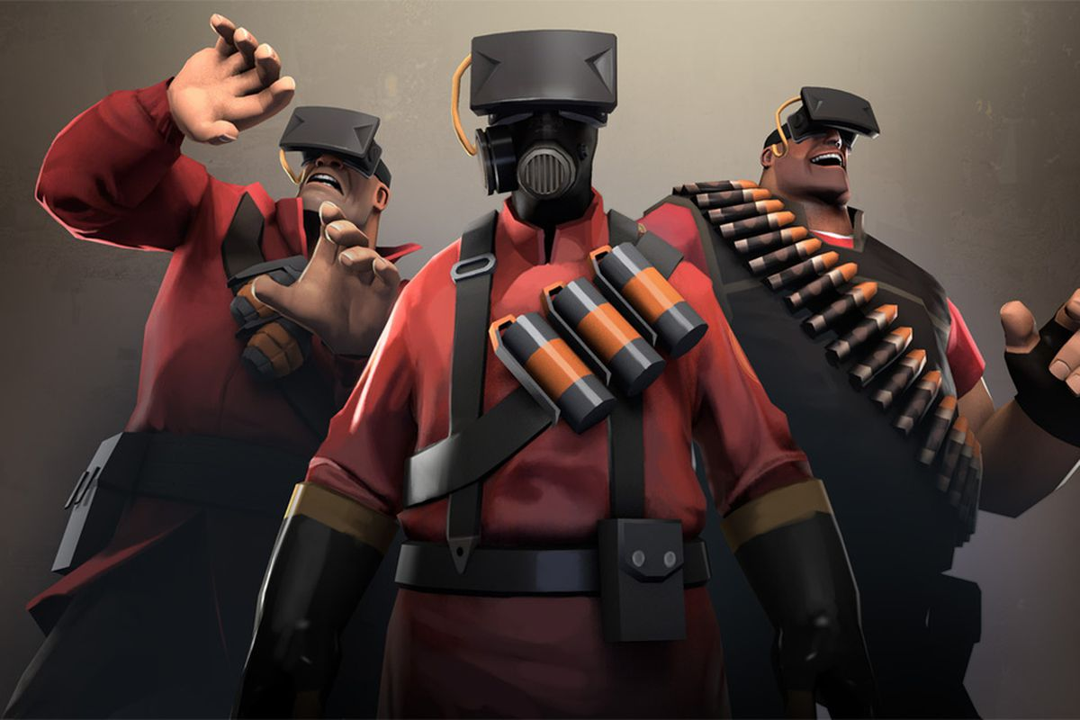 Oculus Rift Working With Valve For Team Fortress 2 Support But
