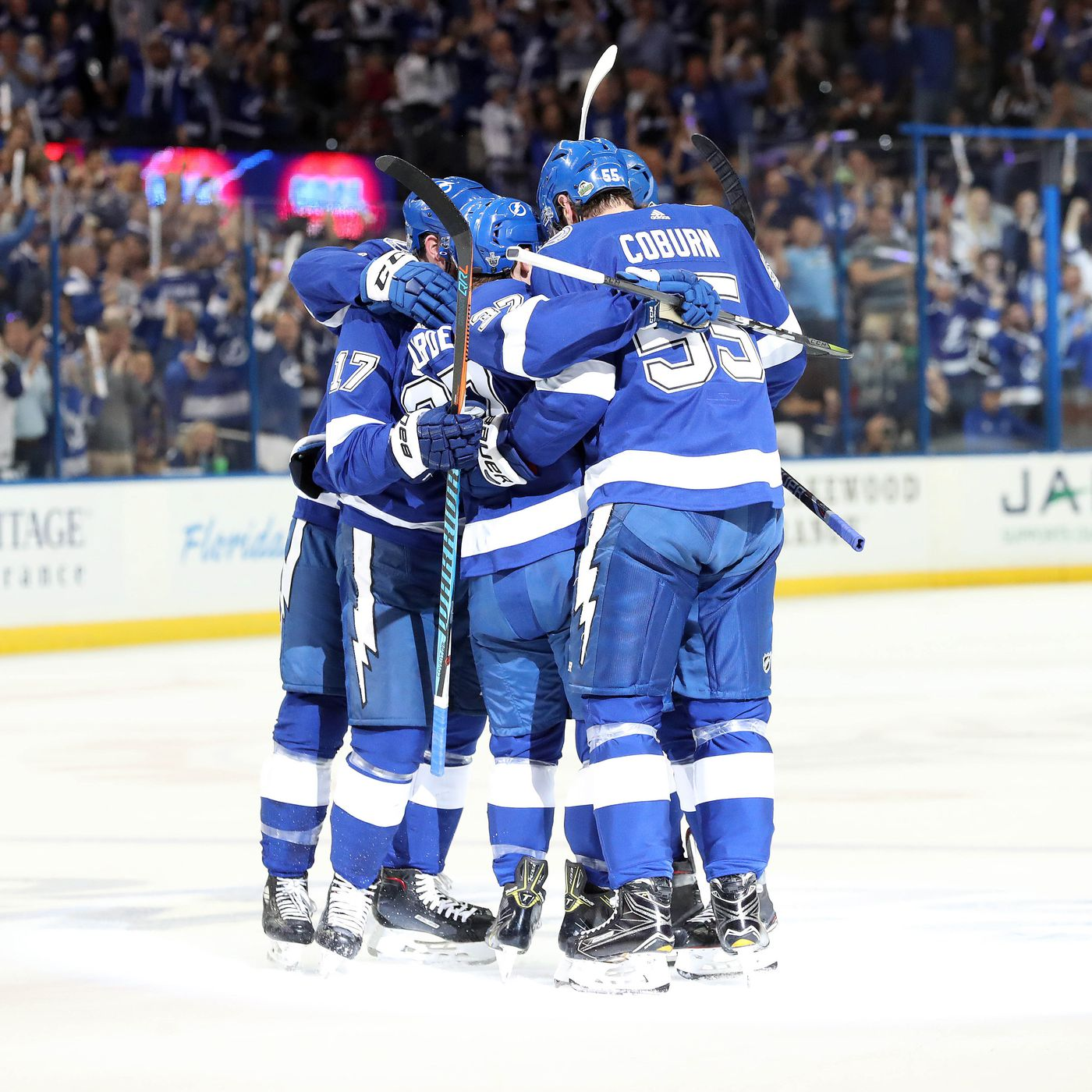 nhl playoffs lightning didn t even give the devils a chance