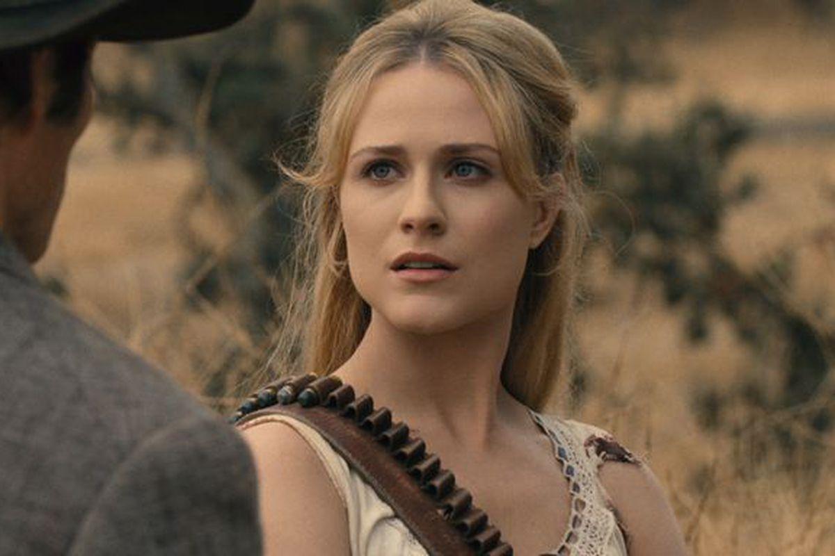 Dolores on 'Westworld'