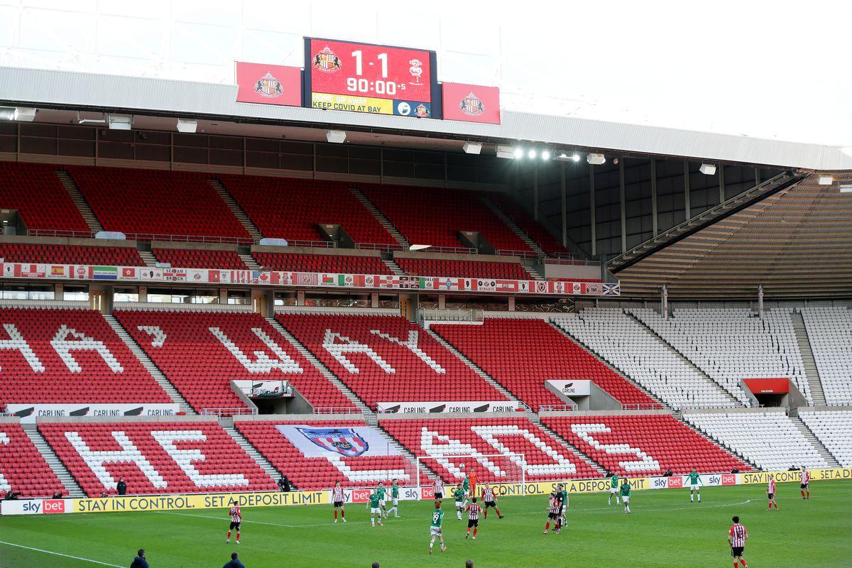 Sunderland v Lincoln City - Sky Bet League One - Stadium of Light