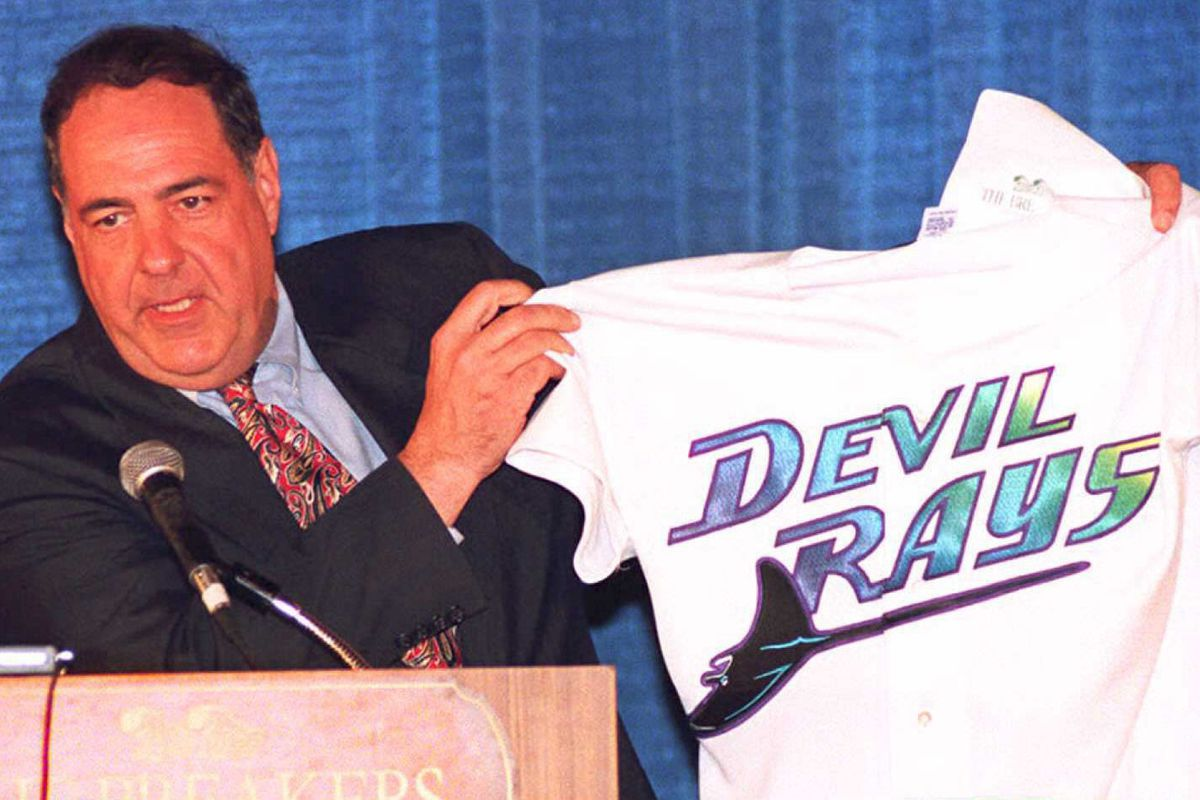 """Vince Naimoli, owner of the """"Tampa Bay Devil Rays"""""""