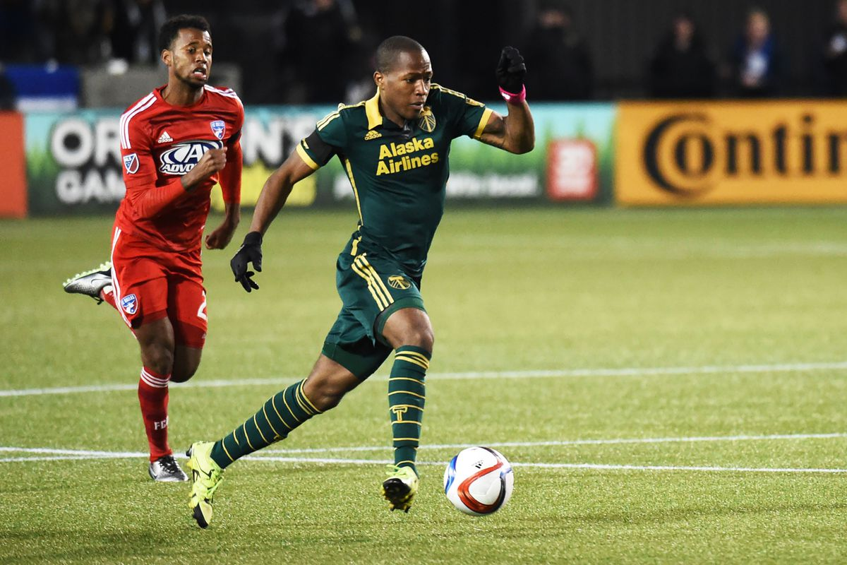 Darlington Nagbe hopes to lead the Timbers toward their first MLS Cup berth.