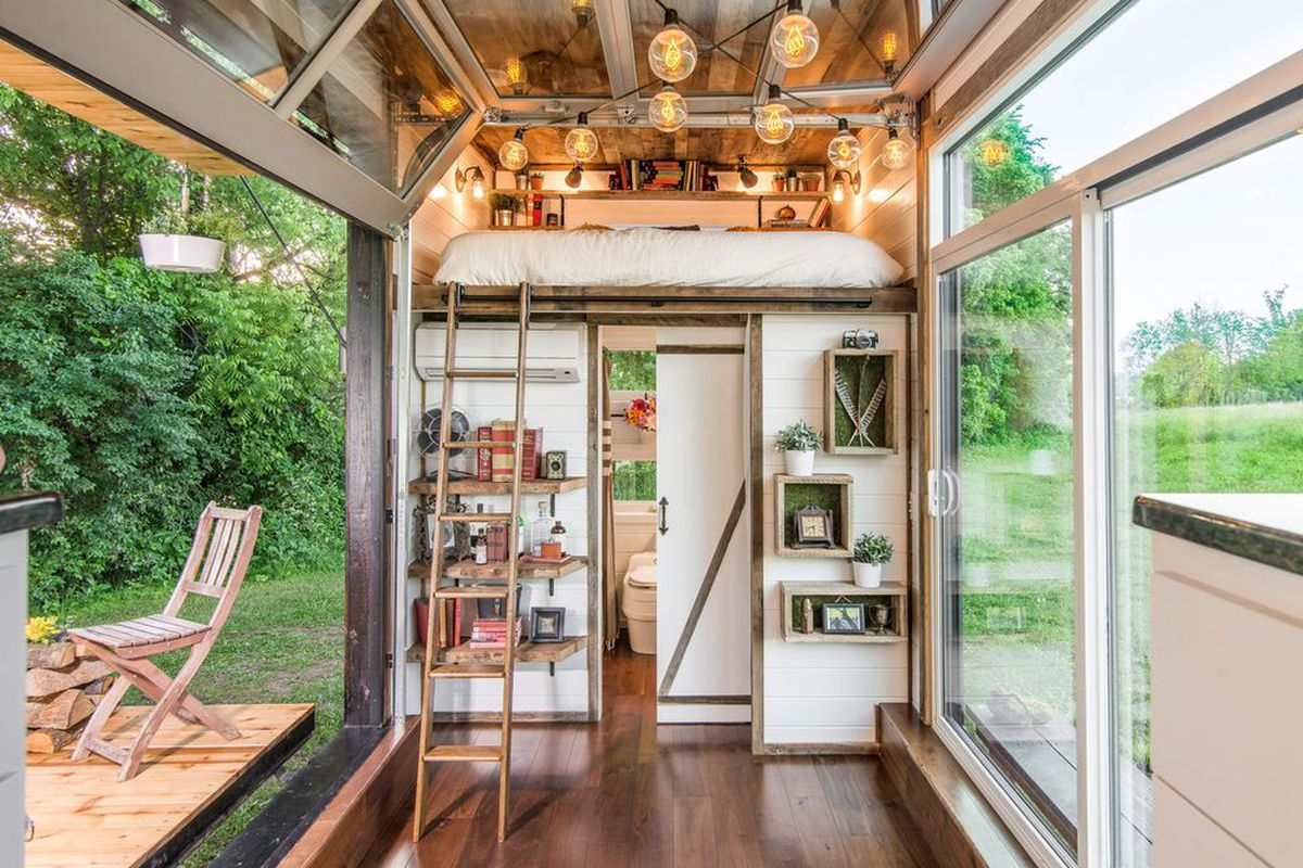 Tiny houses in 2016 more tricked out and eco friendly curbed House interior design for small houses