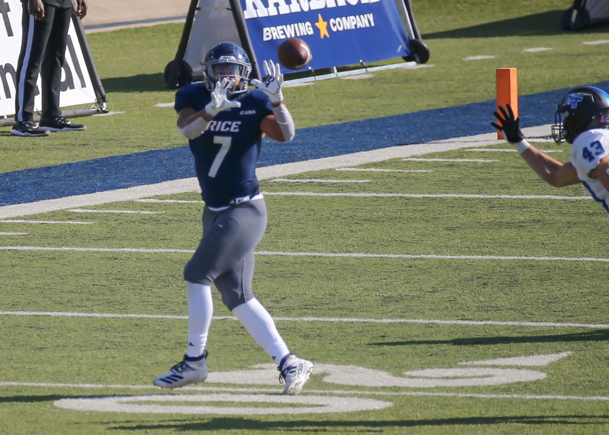 COLLEGE FOOTBALL: OCT 24 Middle Tennessee at Rice