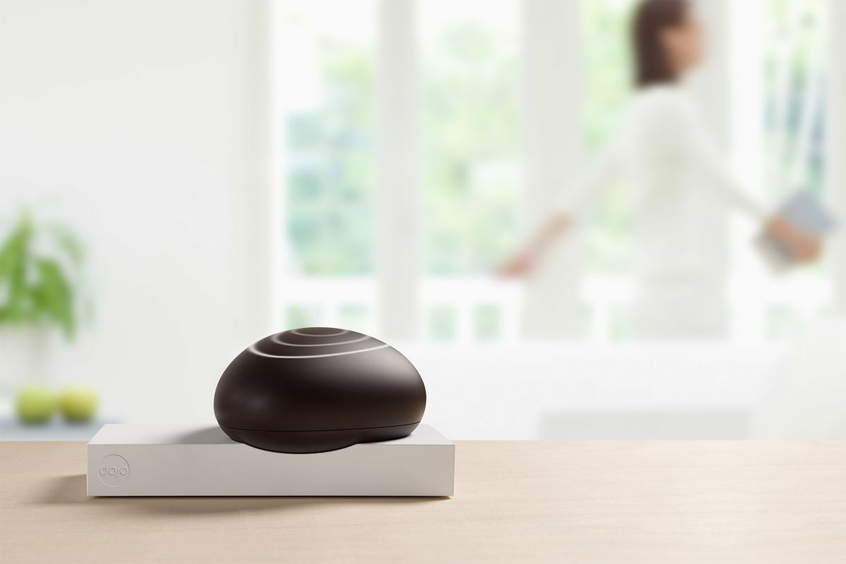 dojo is another oddly shaped solution to securing your home one