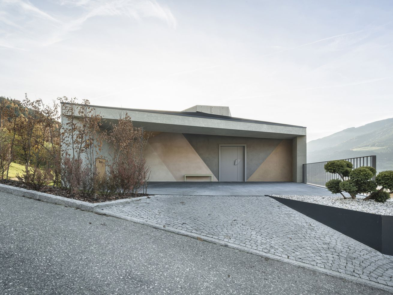 Modern concrete home is perfect for the Instagram age