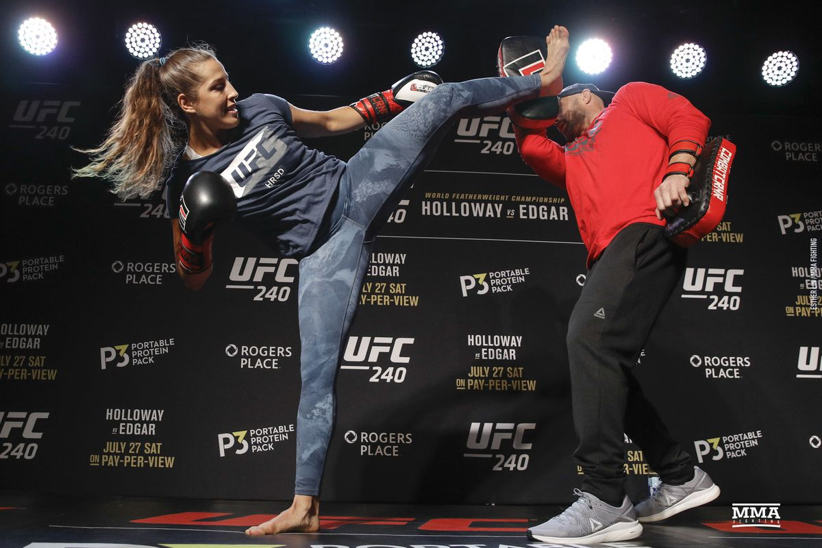 UFC 240 open workout photos - MMA Fighting