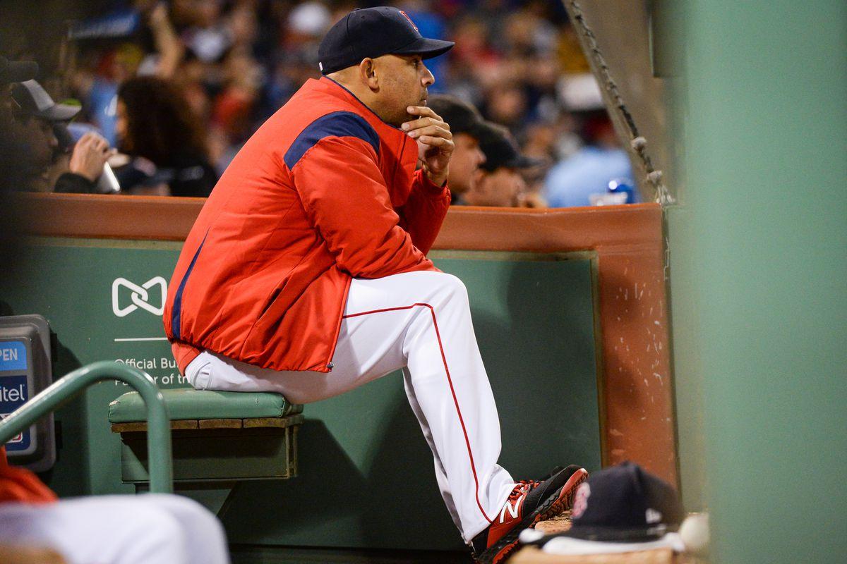 San Francisco Giants v Boston Red Sox