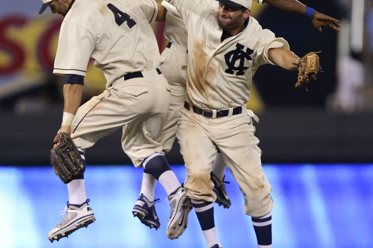 My reaction when learning of the Sanchez trade. (Photo by Ed Zurga/Getty Images)