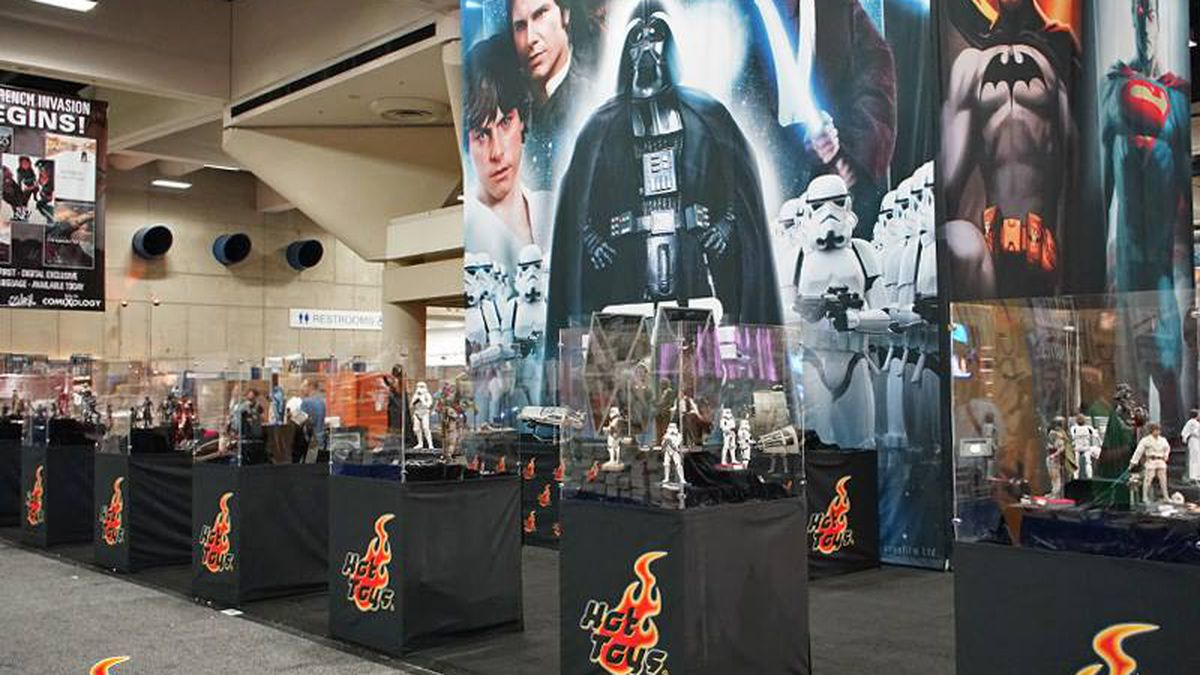 Hot Toys San Diego Comic-Con 2015 booth